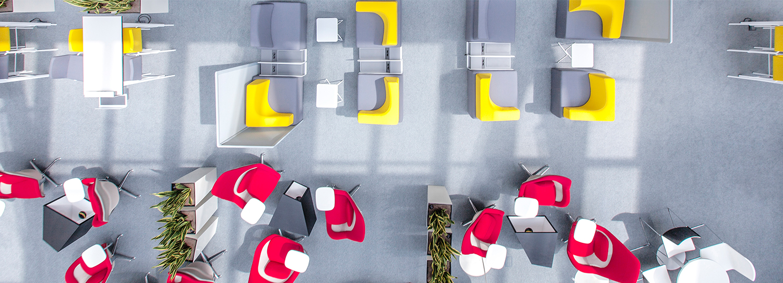 Realizacje - Mondelez. Jak zagospodarować rozległą przestrzeń, by nie straciła na funkcjonalności?